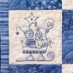 Frolicking Roly-Poly Snowmen Quilt - Hand Embroidery Pattern