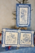 Picture of Snowball Fight - Hand Embroidery - 1175