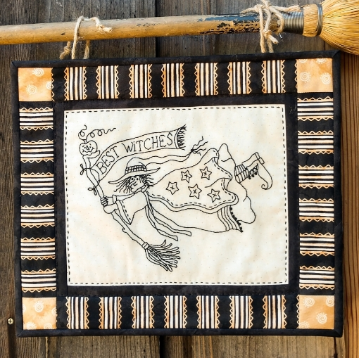 Picture of Best Witches - Hand Embroidery - #1207