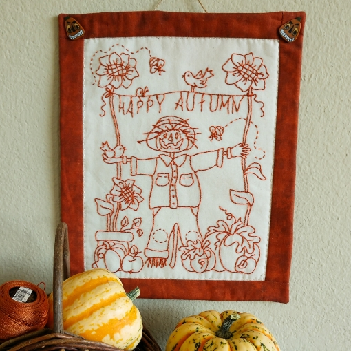 Picture of Happy Autumn - Hand Embroidery Pattern