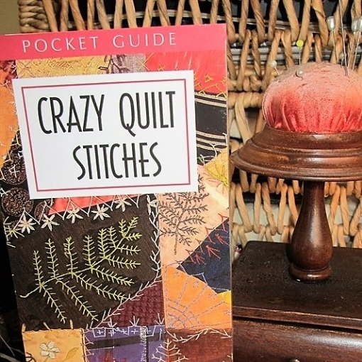 Picture of Crazy Quilt Stitches Pocket Guide