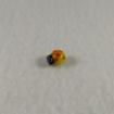 Ladybug Bead Yellow