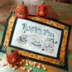 Picture of Pumpkin Time Hand Embroidery Complete Kit