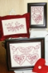 Picture of Loving Hearts RedWork