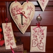 Picture of Key To My Heart RedWork
