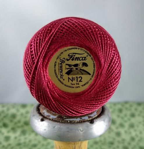 Picture of Presencia #1915 Robin Red 12 wt. Perle Cotton
