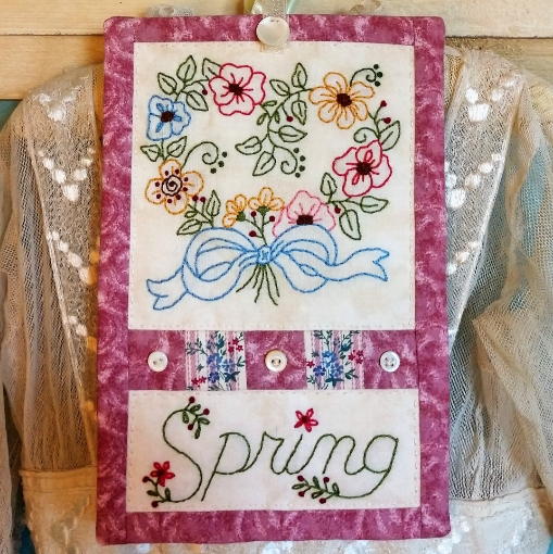 Picture of Spring Bouquet - Hand Embroidery Pattern