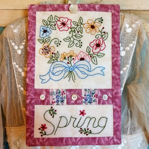 Picture of Spring Bouquet - Machine Embroidery Pattern