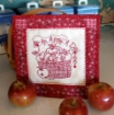 An Apple a Day Embroidery Pattern