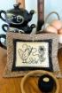 Sew Blackwork Pin Cushion Embroidery Pattern
