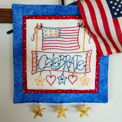 Picture of Celebrate - Machine Embroidery Pattern