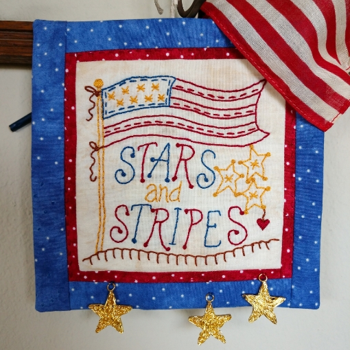 Picture of Stars and Stripes - Machine Embroidery Pattern