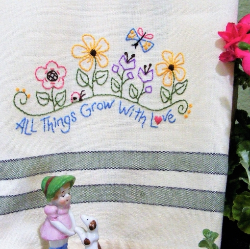 All Things Grow With Love Embroidery Pattern