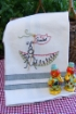 Summer Picnic Ant Embroidery Pattern