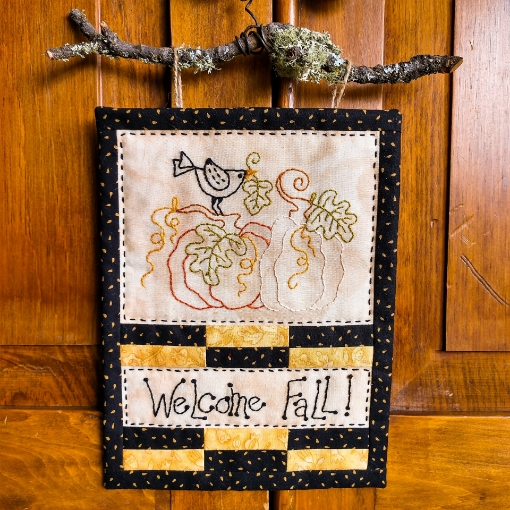 Picture of Welcome Fall - Machine Embroidery Pattern