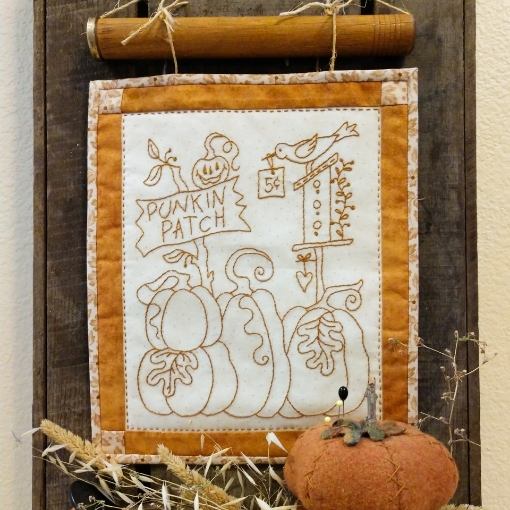 Picture of Punkin Patch - Machine Embroidery Pattern