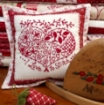 Picture of Redwork Pin Cushion Club - Machine Embroidery - Pattern 05 - 1519ME