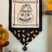 Happy Halloween Trio Hand Embroidery Complete Kit