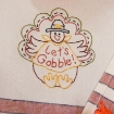 Let's Gobble Hand Embroidery Pattern