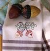 Autumn Acorn Hand Embroidery Pattern