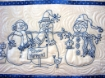 Picture of Snow Happens! Machine Embroidery Table Runner - Download