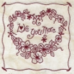 Love You More Hand Embroidery Pattern