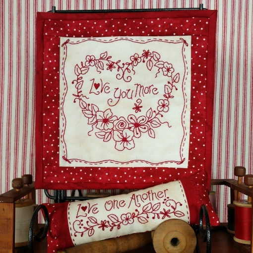 Love You More Machine Embroidery Pattern