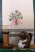 Shamrock Bouquet Hand Embroidery Pattern