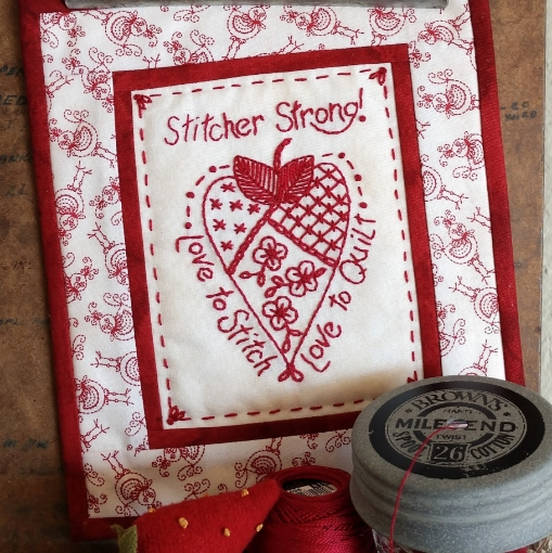 Stitcher Strong Hand Embroidery Pattern