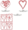 Patchwork Hearts Machine Embroidery Summary