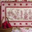 Picture of Bunny Bunch Table Runner - Machine Embroidery Pattern Download