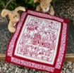 Happy Spring Machine Embroidery Pattern