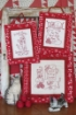 100% Kitty Lover RedWork Hand Embroidery Pattern