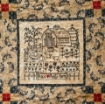 Home and Heart BlackWork Quilt - Machine Embroidery Pattern