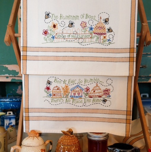 Picture of The Hummmm Of Bees - Hand Embroidery Pattern