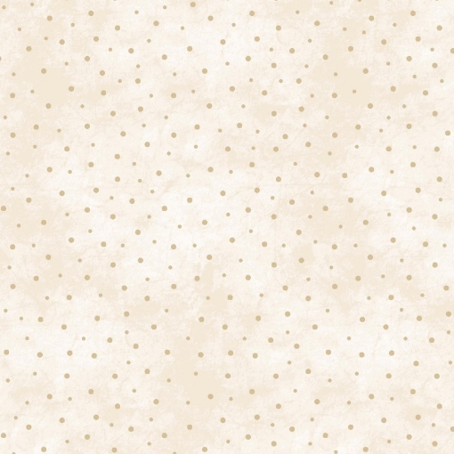 Picture of Sprinkled Dots - Natural / Tan Cotton Fabric