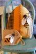 Bee Hive Sampler Wool Pin Cushion