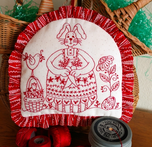 Easter Egg Bunny Hand Embroidery Kit