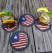 Picture of Flag Coasters (Set of 4)