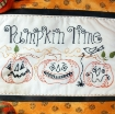 Pumpkin Time Hand Embroidery Kit