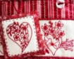 Flower Filled Hearts Hand Embroidery Kit