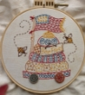 Bee Free Hand Embroidery Pattern