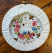 Flowers, Bees and Honey Hoop Hand Embroidery Kit