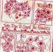 Take Time to Smell the Flowers Embroidery Pattern