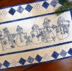Picture of Snow Happens! Hand Embroidery Table Runner - Download