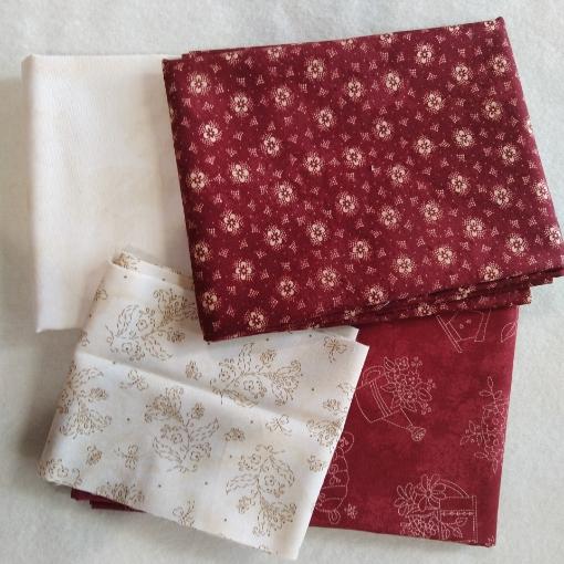 Bird House Garden Red Fabric Pack