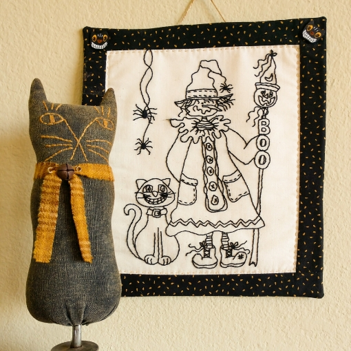 Picture of Haunting Pals - Hand Embroidery Pattern