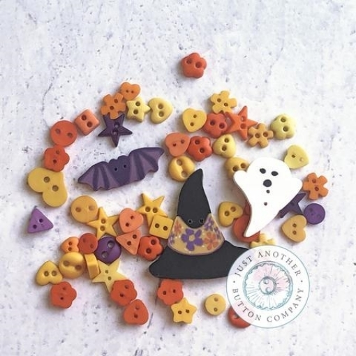 Picture of Spooky Hat Button Collection