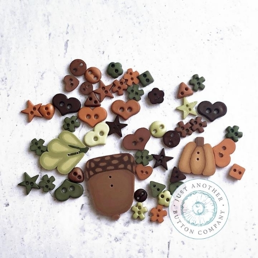 Picture of Fall Acorn Mix Buttons
