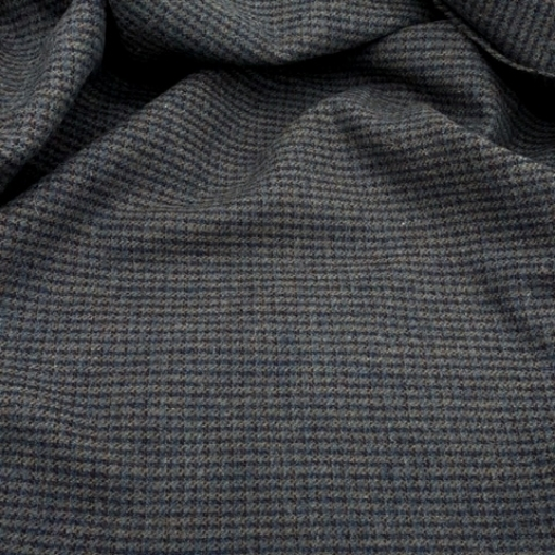 A Beautiful Textured Dark Blue-Gray Wool